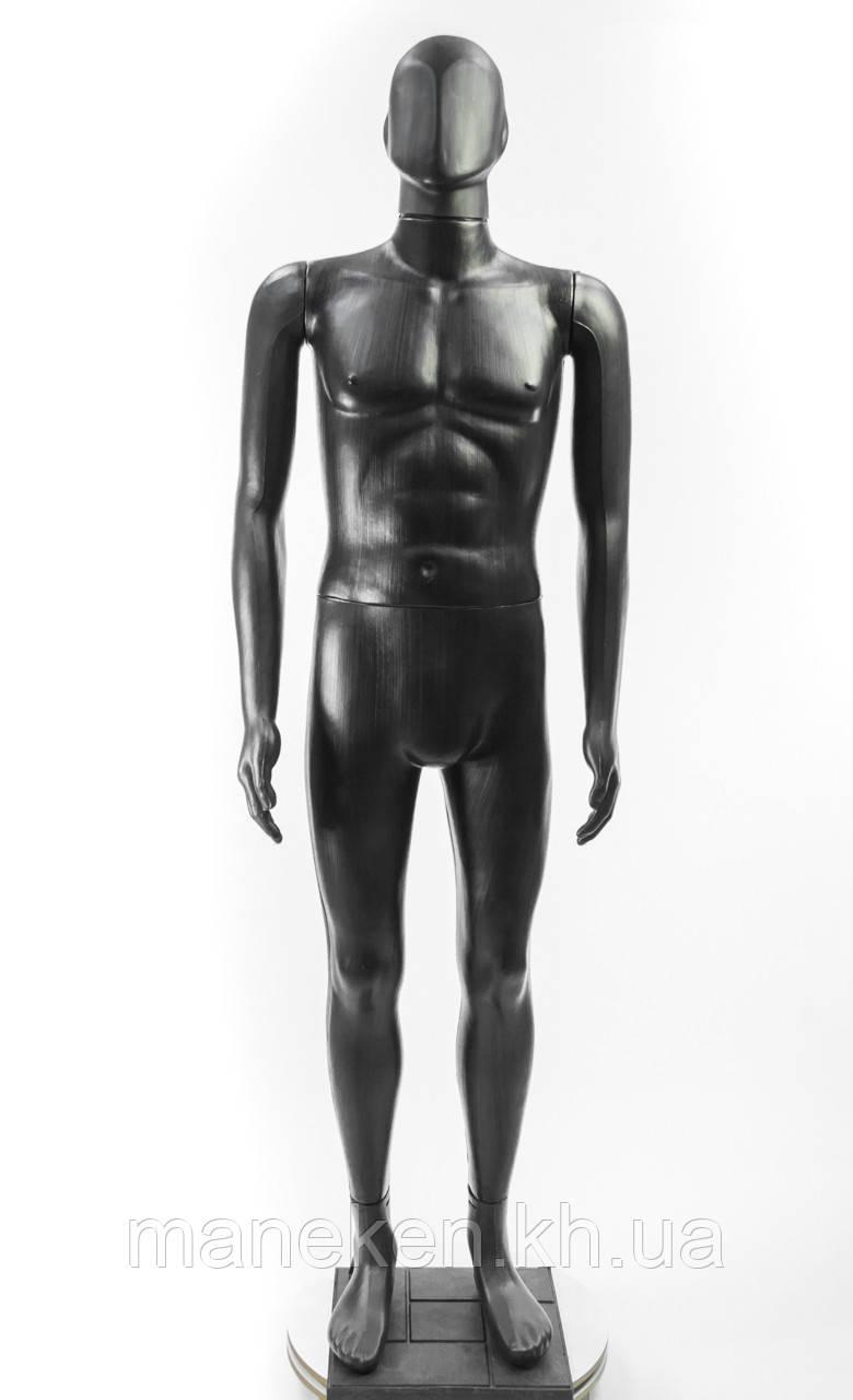 """Манекен мужской TREMVERY """"Сенсей"""" K2 черный (201) PN3 с подставкой"""