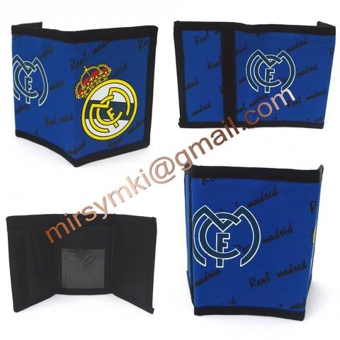 Кошелек Real Madrid.(Минимальное количество для заказа 12 шт)