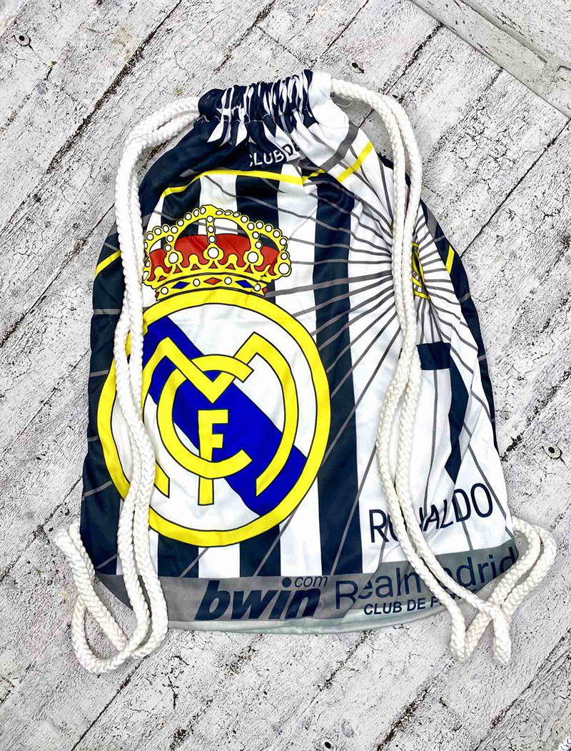Сумка для обуви Real Madrid FC Black..Минимальный заказ-12 шт.