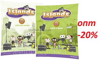 Английский язык / Islands / Pupil's+Activity Books+Pincode. Учебник+Тетрадь (комплект), 4/ Pearson