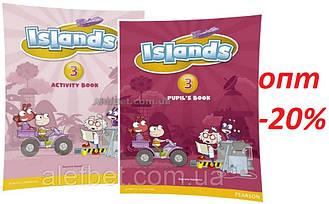 Английский язык / Islands / Pupil's+Activity Books+Pincode. Учебник+Тетрадь (комплект), 3/ Pearson