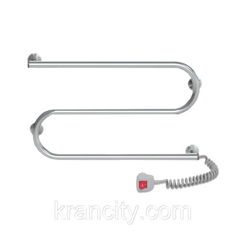 Полотенцесушитель электрический Lidz Snake (CRM) 600x330 RE