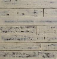 Паркетна дошка Brandwood Гевея White Pf14 Loft 14х130х1000 мм Білий PF14 LO, КОД: 1555783