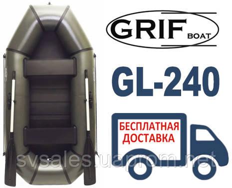 Grif GL-240 лодка 2-местная (Разные модификации)
