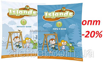 Английский язык / Islands / Pupil's+Activity Books+Pincode. Учебник+Тетрадь (комплект), 1 / Pearson