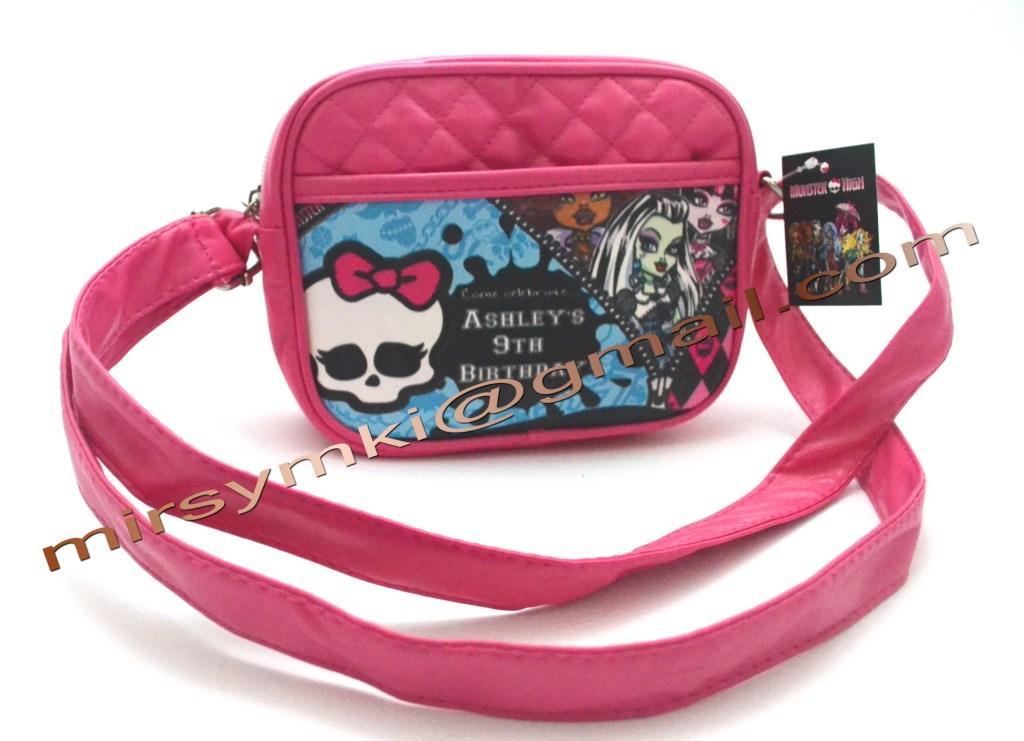 Сумка Monster High robekka chibi pink