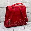 """Женский рюкзак """"City"""" Цвет: Красный., фото 2"""