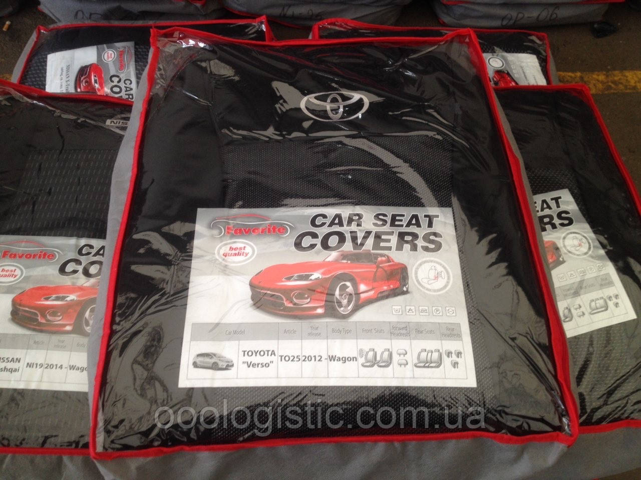 Авточехлы Favorite на Toyota Verso 2012 >wagon,авточехлы Фаворит на Тойота Версо от 2012 года вагон