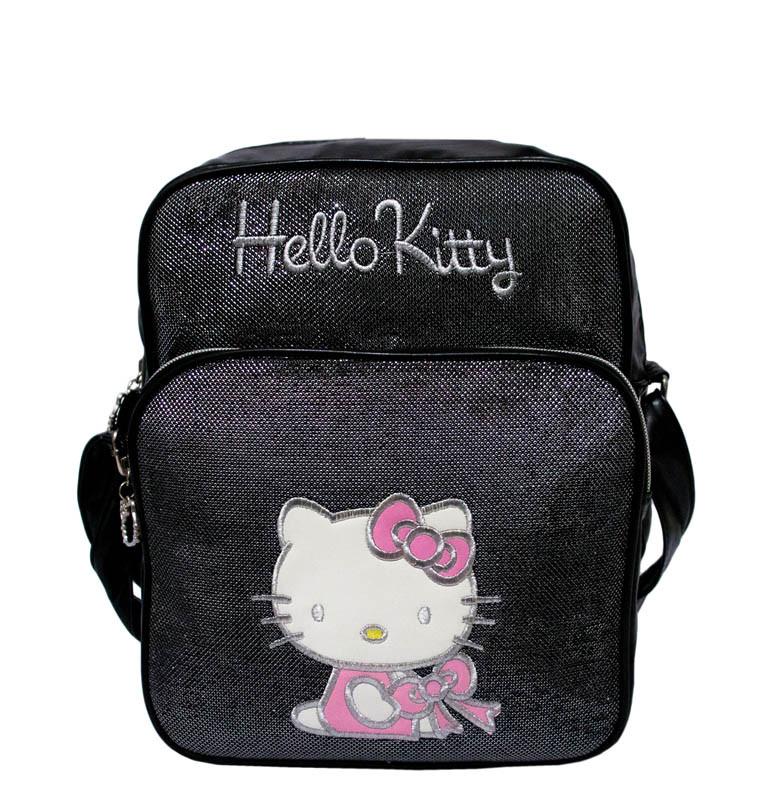 Детская сумка Hello Kitty 3 Цвета Черный