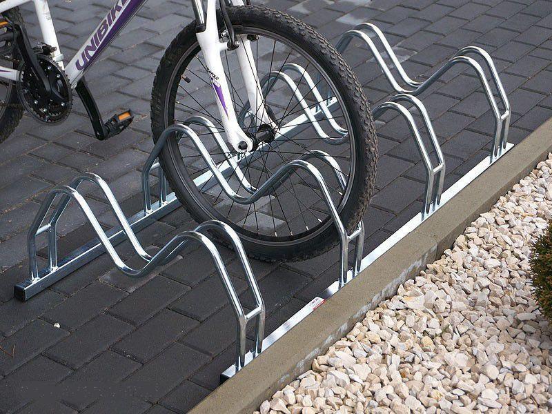 Велопарковка на 6 велосипедів Smile-6 Польща