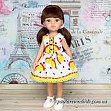 """Платье """"Апельсинки"""" для кукол Паола Рейна, фото 2"""