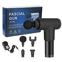 Ударный массажер для тела Fascial Gun, ручной массажер для тела, профессиональный массажер для спорта