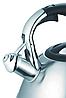 Чайник зі свистком з нержавіючої сталі Maestro MR-1338 (3 л) | металевий чайник Маестро, Маестро, фото 4