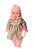 Пупс игрушечный в розовой одежде с бутылочкой M 3887 UA LIMO TOY мягконабивной, музыкально-звуковой   куколка, фото 4