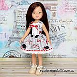 """Платье """"Микки"""" для кукол Паола Рейна, фото 2"""