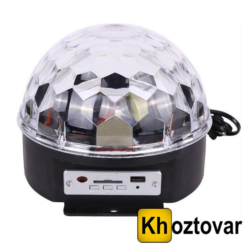 Магічний світлодіодний куля LED Magic Ball Light