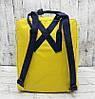 """Рюкзак """"KÅNKEN"""" Зелёный с синими ручками, фото 3"""