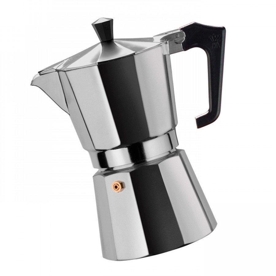 Гейзерная кофеварка из кованого алюминия - 3 чашки Benson BN-155