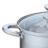 Каструля з кришкою з нержавіючої сталі Maestro MR-3515-24 (4.5 л) | набір посуду Маестро | каструлі Маестро, фото 5
