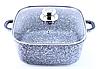 Набор посуды Benson BN-331 (6 предметов) гранитное покрытие | кастрюля с крышкой | кастрюли | посуда Бенсон, фото 2