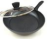 Сковорода с антипригарным мраморным покрытием с крышкой Benson BN-341 (26 см) | сковородка Бенсон, фото 5