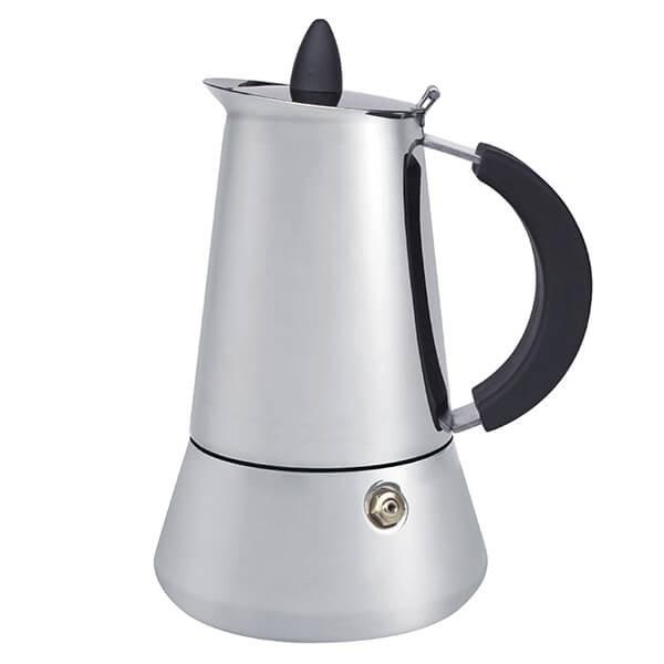 Гейзерная кофеварка из нержавеющей стали Rainbow Maestro MR-1668-4 на 4 чашки   турка Маэстро, Маестро