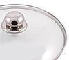 Крышка из закаленного стекла Benson BN-1005 (24 см) | стеклянная крышка на кастрюлю Бенсон | крышка стекло, фото 4