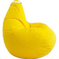 Крісло мішок SOFTLAND Груша стандартний доросла XL 120х90 см Жовтий SFLD31, КОД: 1310500