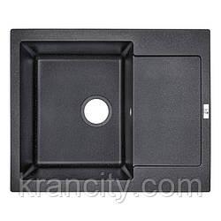 Кухонная мойка Lidz 625x500/200 BLA-03 (LIDZBLA03625500200)