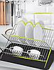 Сушка для посуды Rainbow Maestro MR-1027 (съемный лоток)   кухонная сушилка для посуды Маэстро, Маестро, фото 3