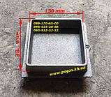 Дверки чугунные комплект топочная + поддувальная + сажетруска, фото 4