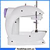 Швейная машинка портативная Mini Sewing Machine SM-202A - Мини швейная машина с адаптером, фото 2