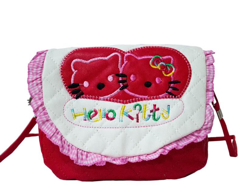 "Детская сумочка ""Hello Kitty"" 4 Цвета Белый"