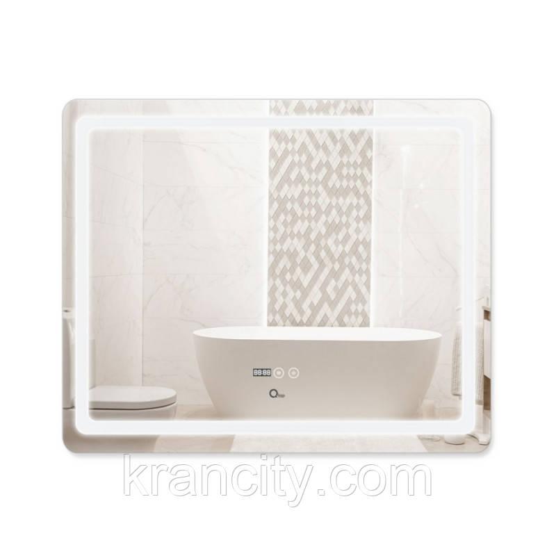 Зеркало Qtap Mideya с антизапотеванием (DC-F910) 1000х800 QT2078F910W
