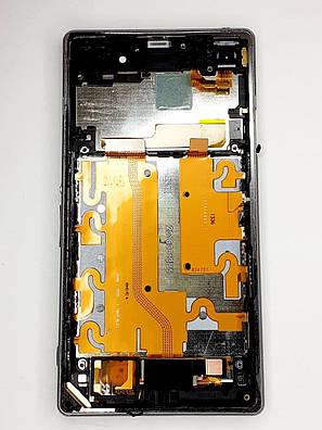 Модульний дисплей Sony Xperia Z1 C6902/ L39h/ C6903/C6906/ C6943 оригінал б.у., фото 2