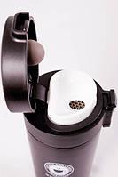 Термос из нержавеющей стали Benson BN-40-1 (380 мл) коричневый | термочашка Бенсон | термокружка Бэнсон
