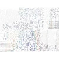 Фольга для литья Andi Prof FBG-05 голографическая абстракция, 1 м