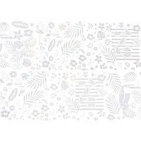 Фольга для литья Andi Prof FBG-09 голографическая тропики, 1 м