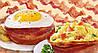 Набор форм для выпечки Perfect Bacon Bowl (съедобная тарелка из бекона), фото 3