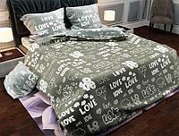 Семейный набор хлопкового постельного белья из Бязи Gold 1572075AB Черешенка BC4G1572075AB, КОД: 1891496