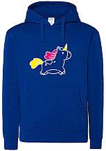 Реглан с капюшоном Unicorn bl