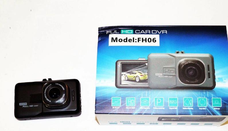 Авторегистратор FH06   Автомобильный видеорегистратор DVR FULL HD