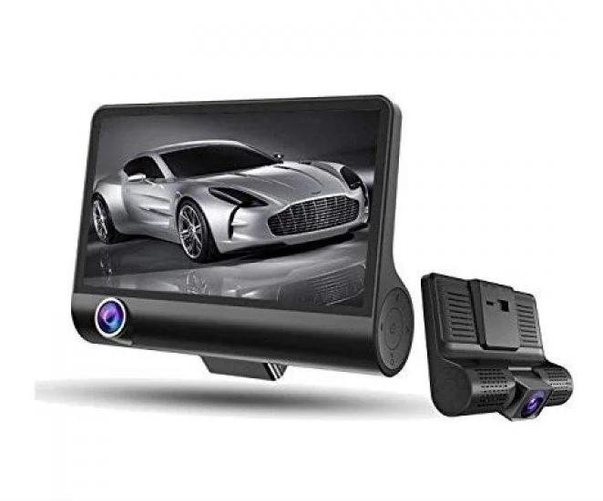 Авторегистратор XH202/319 | Автомобильный видеорегистратор с 3 камерами
