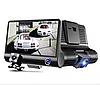 Авторегистратор XH202/319 | Автомобильный видеорегистратор с 3 камерами, фото 2