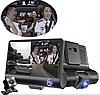 Авторегистратор XH202/319 | Автомобильный видеорегистратор с 3 камерами, фото 3