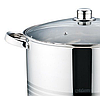 Кастрюля с крышкой из нержавеющей стали Maestro MR-3517-16 (16 л) | набор посуды | кастрюли Маэстро, Маестро, фото 5
