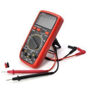 Высокочувуствительный универсальный портативный мультиметр DT VC 61   цифровой измеритель емкости