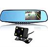 Автомобильный видеорегистратор зеркало DVR 1433 Full HD с камерой заднего вида, фото 2