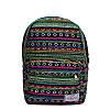 Рюкзак с ярким принтом 9 Рисунков (Вышивка .Зеленый), фото 2