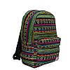 Рюкзак с ярким принтом 9 Рисунков (Вышивка .Зеленый), фото 3